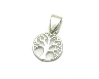 Small genuine sterling silver pendant charm solid hallmarked 925 Celtic knot