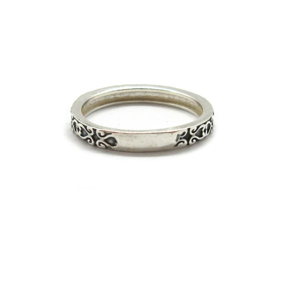 Genuine sterling silver ring band Crown solid hallmarked 925 R001927