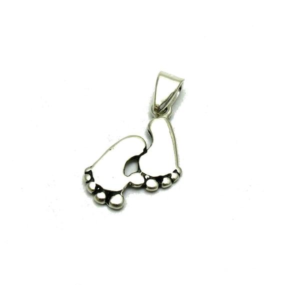 PE001197  Sterling silver pendant  charm  925 solid handmade