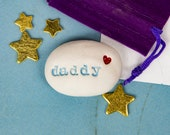daddy gift pebble & pouch