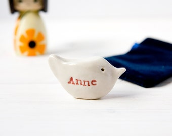 Personalised Baby Shower Gift Bird SMALL SIZE