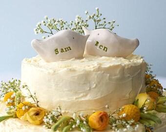 Custom Cake Topper/Personalised Birds/LARGE Size /Engagement Gift/Unique Wedding Gift