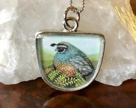Quail|Quail jewelry|quail pendant|quail jewelry gift|quail necklace|quail art|quail gift|quail art pendant|quail for her|mom gift