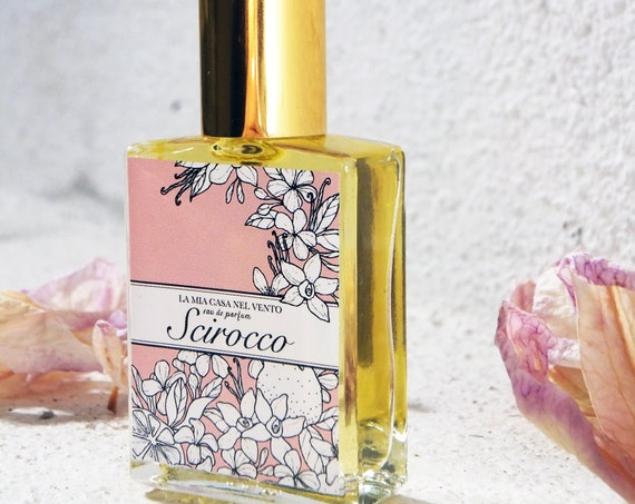 Scirocco-Profumo Botanico-Perfume Bottle -15 ml Natural spray