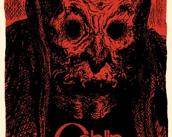 Goblin Concert Poster, Asheville, NC