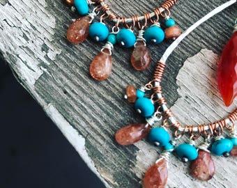 CUSTOM: Intuitive gemstone earrings