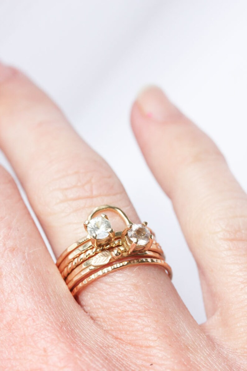 Morganite 14k Gold Ring engagement yellow gold alternative image 0