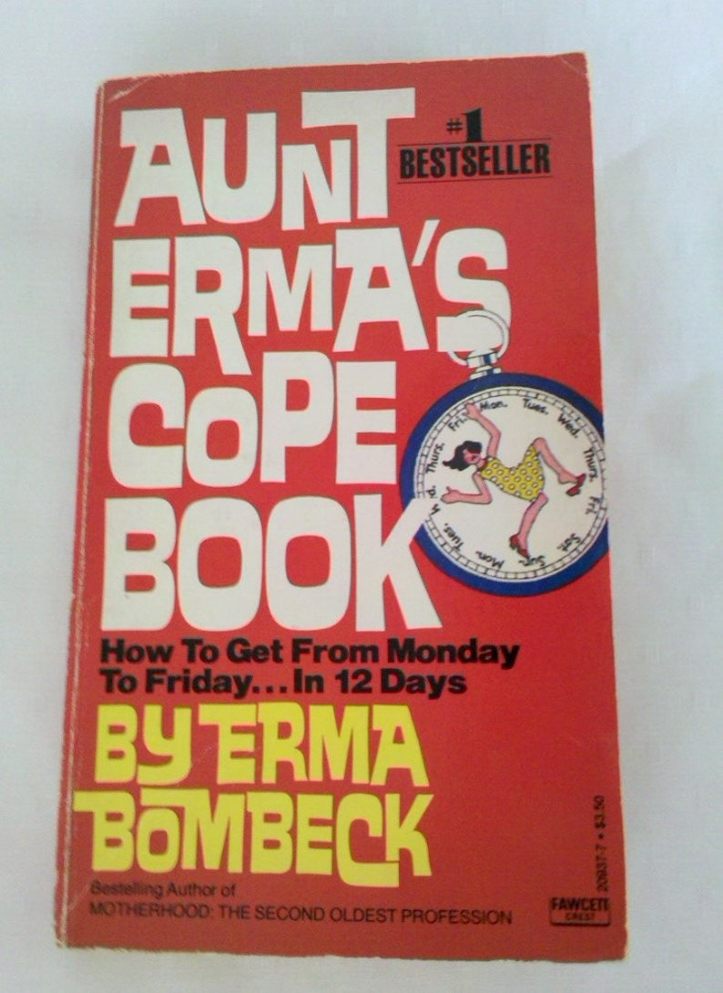 Vintage Aunt Ermas Cope Book By Erma Bombeck Pif Etsy