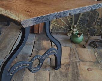 Cast Iron Table Legs Etsy