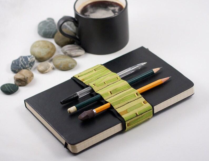Journal Bandolier // bamboo // a better pencil case journal image 0