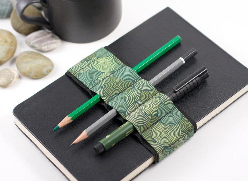 Journal Bandolier // vertigreen // a better pencil case image 0