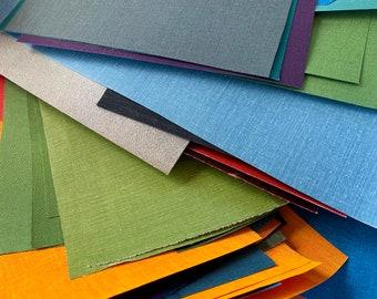 Bookcloth - sampler pack 5 oz. ( 140 grams ) of book binding cloth