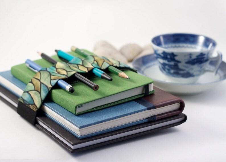 Adjustable Bandolier // green waves // a better pencil case image 0