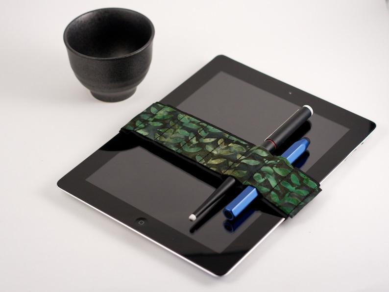 Med. Bandolier IPAD size // batik vines // a better pencil image 0