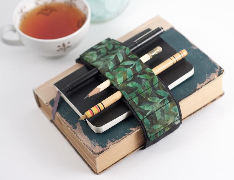 Adjustable Bandolier // batik vines // a better pencil case image 0