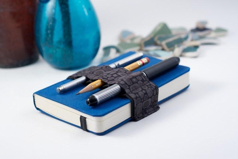 Mini Bandolier // grey pods // a better pencil case journal image 0