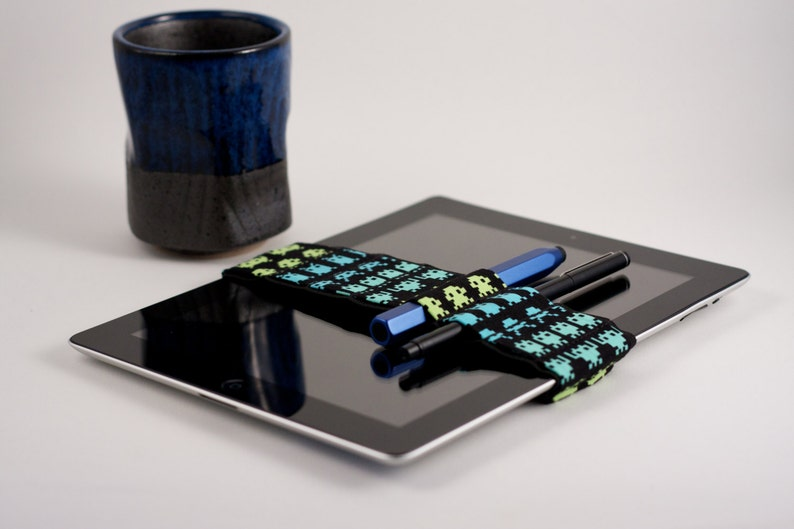 Med Bandolier IPAD size // space invaders // a better image 0