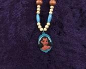 Moana Inspired Bottle Cap Necklace
