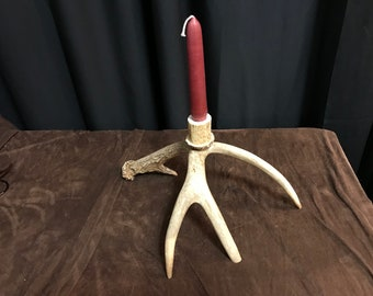 Whitetail 3 taper candle holder