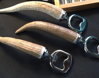 Real Antler Bottle Opener (heavy duty)