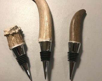 Real Antler Wine Stopper