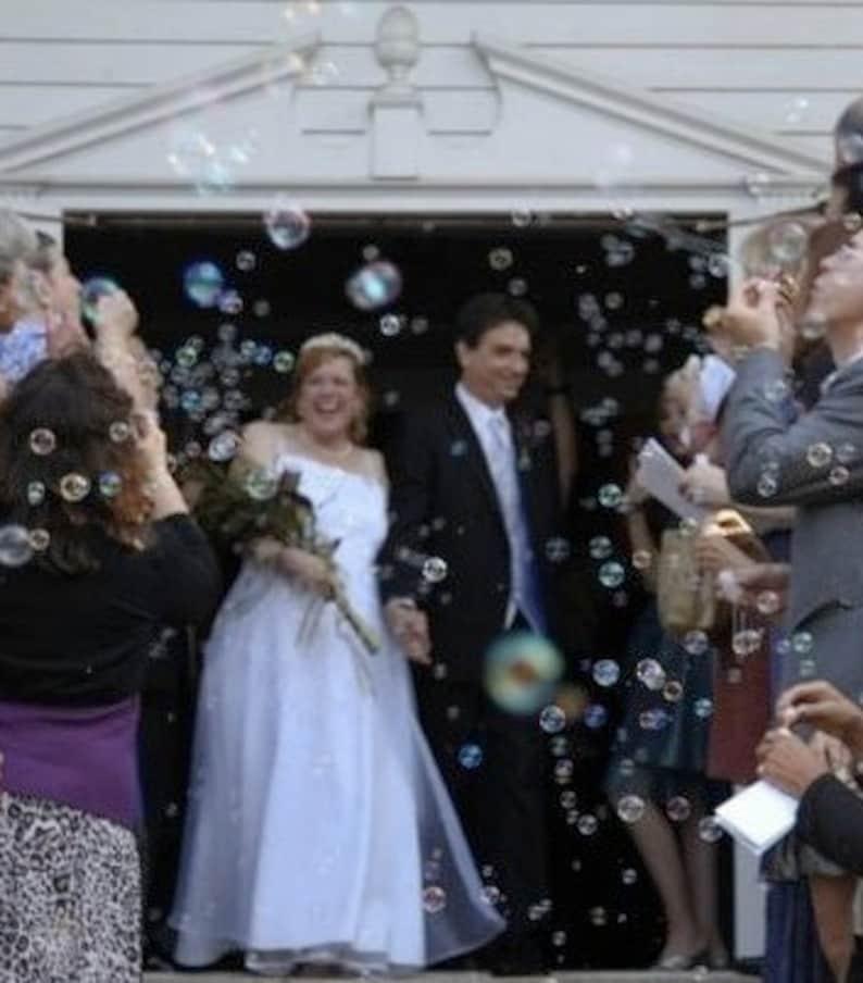 50 DIY Wedding Bubble Tubes Customized