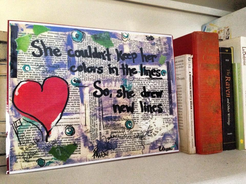 Book Art Mental Health Austism Depression Anxiety Etsy