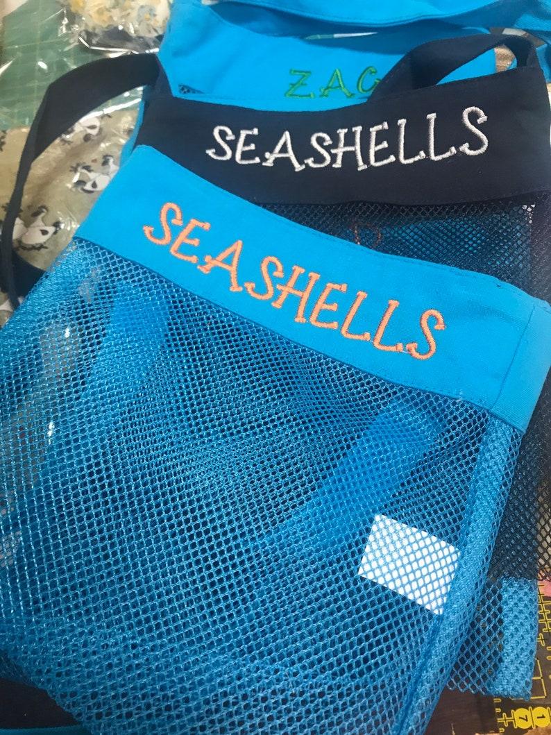 treasure hunting Seashell Bag embroidered