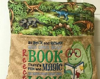 Reading Pillow - Pocket Book Pillow -   - Kids Decor