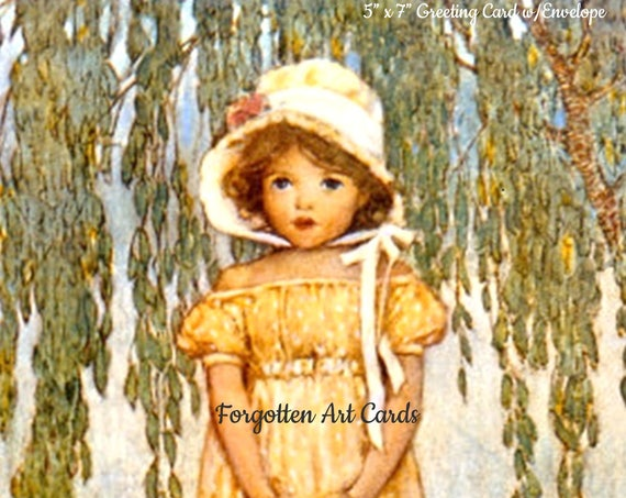 POSEY by Jessie Willcox Smith Greeting Card