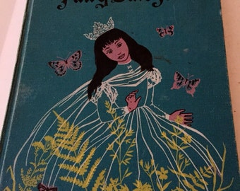 The Fairytale Book/ 1958 First American Edition/ Adrienne Segur/ Collectable Book