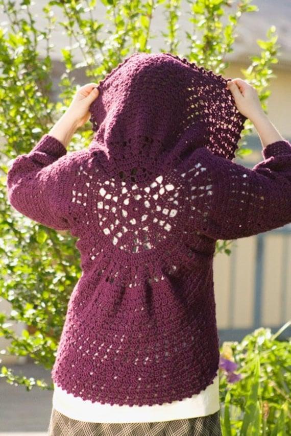 Pattern Pdf For Crochet Circle Bolero Cardigan Shrug Etsy