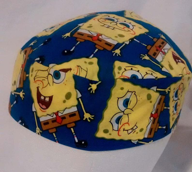 883bb46bc Sponge Bob Square Pants Original Style Kippah Yarmulke Reversible Washable  Patrick