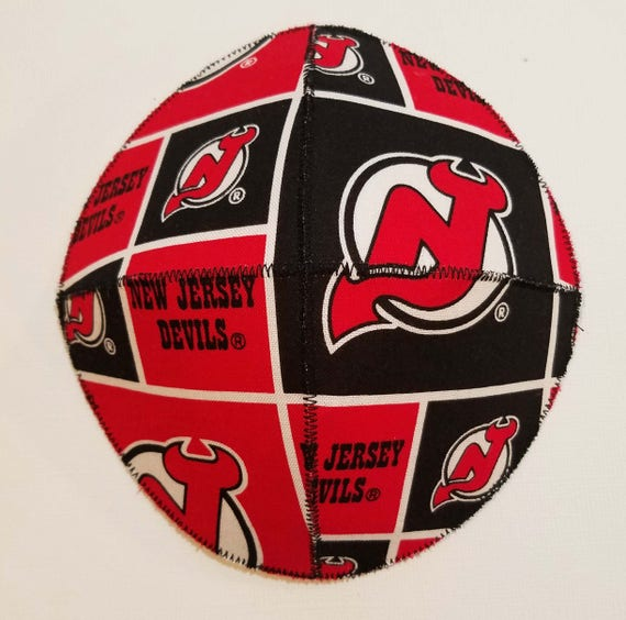e73633a12 NJ Devils Saucer Style Kippah Yarmulke Hockey Team NHL Fan New