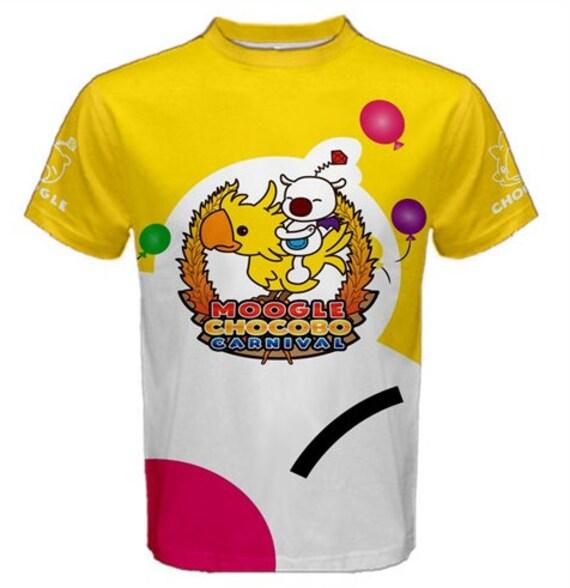 Moogle Chocobo Carnival Shirt Men's Sizes EIKrT