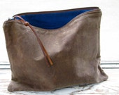 The Traveler's Clutch // waxed canvas pouch // COCOA