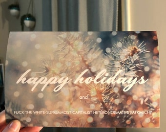 10 Pack - Feminist Holiday Card Pack