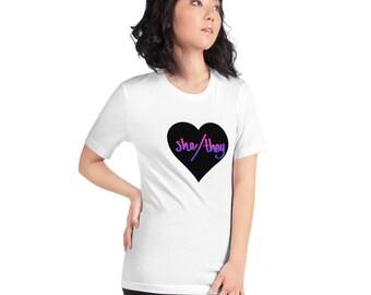 She / They Pronoun T-Shirt