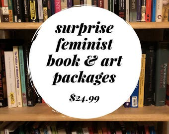 Surprise Feminist Book & Art Package