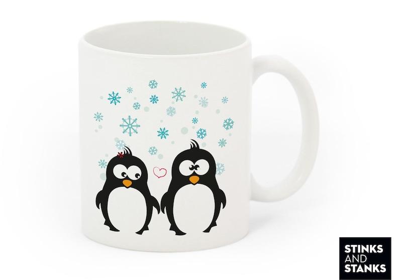 Pinguin Liebespaar