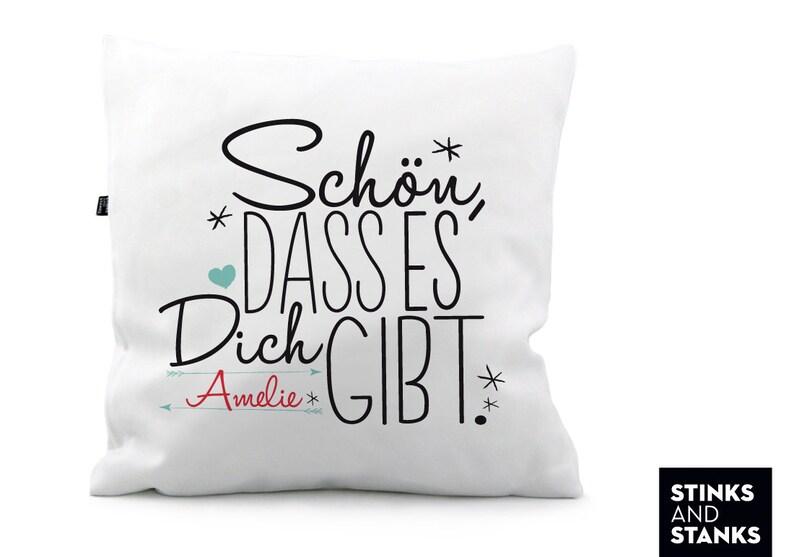 Pillow with Name meinegeschenkideen2016 KS174 image 0