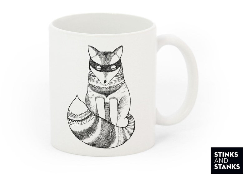 7a8014c3c67 Tasse Kaffeetasse Fuchs TS003 | Etsy