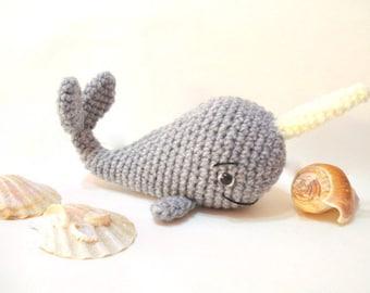 How To Crochet - Easy Beginners Amigurumi Whale Tutorial - YouTube | 270x340