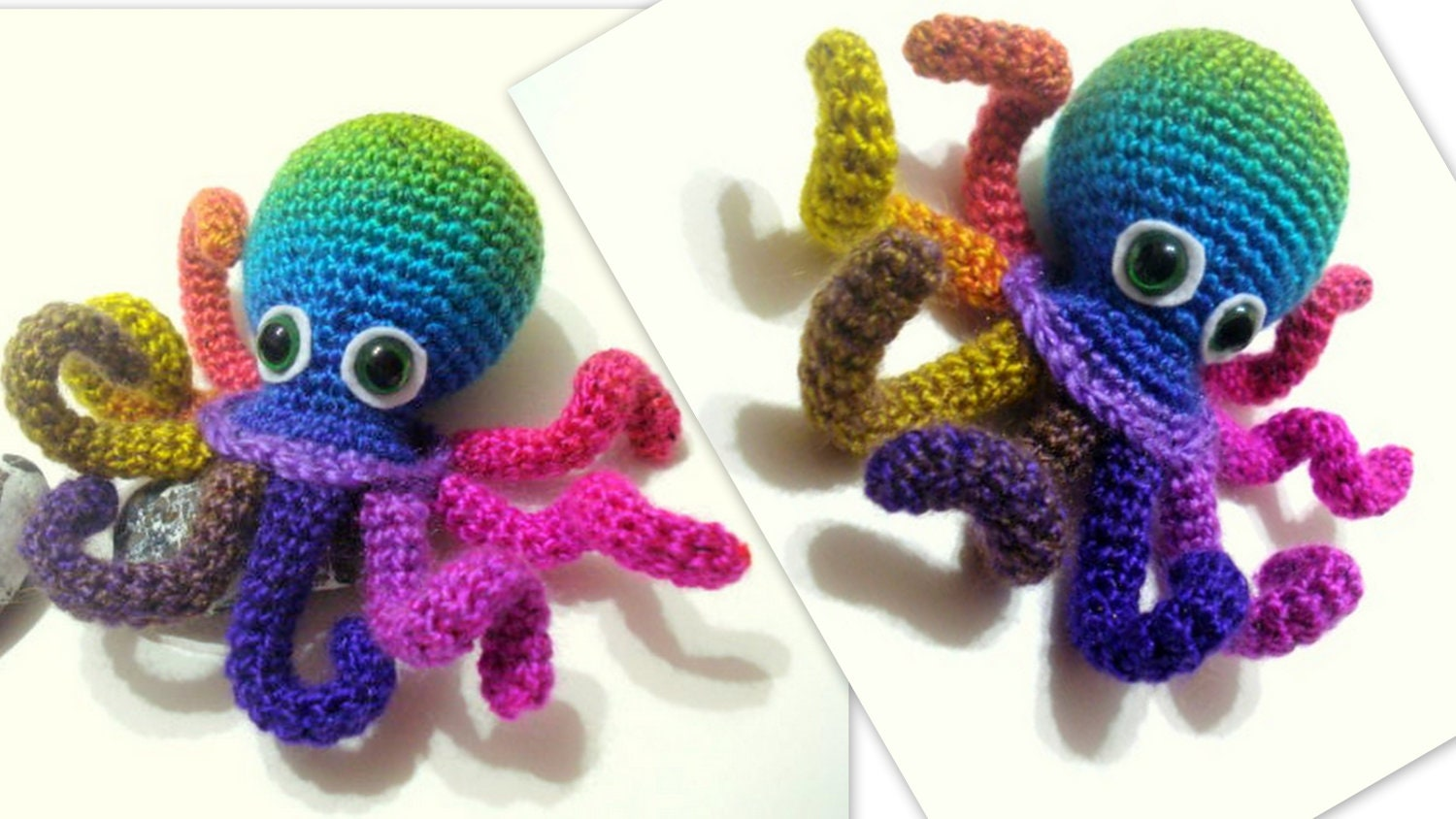 Crochet Tutorial Octopus Amigurumi Crocheted Octopus  730d1dab6022