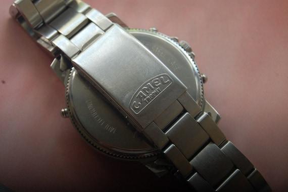 Mens Multichrono Trophy Camel bracelet 5 Atm Montre EHbIe29YWD