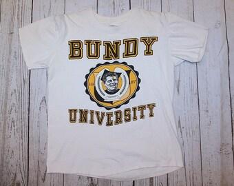 1f98b4842468d0 Al Bundy University Vintage Married With Children T-Shirt