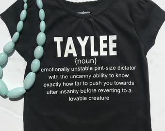 Name Definition Shirt