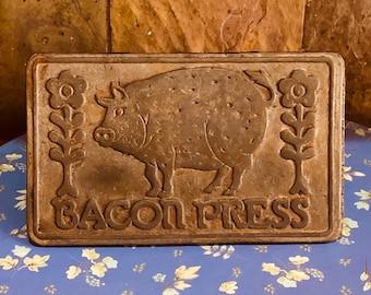 Bacon press | Etsy