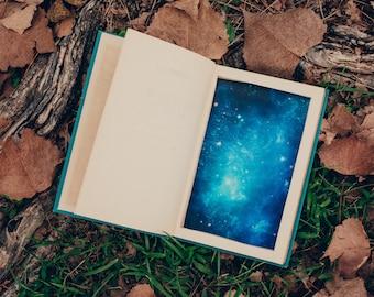 Secret Hollow Book Safe - Galaxy