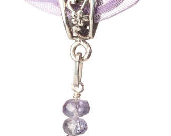 Periwinkle Lavender Blue Tanzanite and Sterling Silver - Out of Africa - Free US shipping